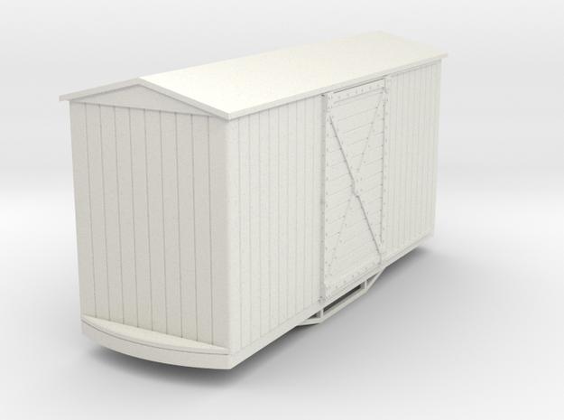 55n9 bogie box car peak roof 3d printed