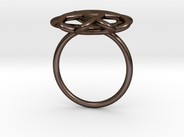 "Double-o #5 – ""Wire Ring"" 3d printed"