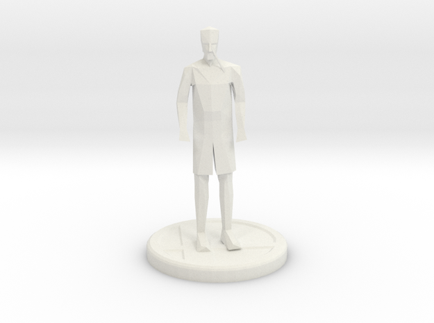 boris trophy in White Natural Versatile Plastic