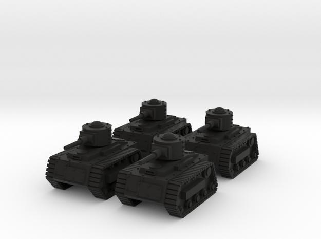 15mm Gobbo Tankettes (x4) 3d printed