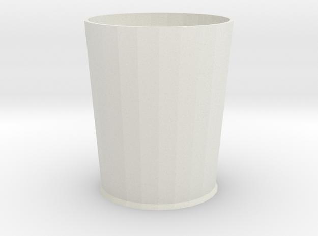 Pythagoras beker 6 cm hoog in White Natural Versatile Plastic