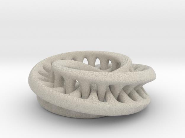Interconnected Moebius 3d printed