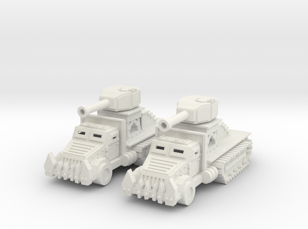 15mm Greenskin Gun Wagons (x2)