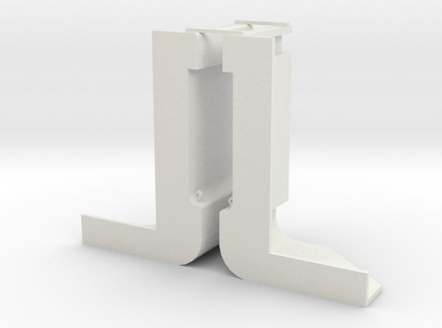 Schut sluis 2 schaal 1:87 in White Natural Versatile Plastic