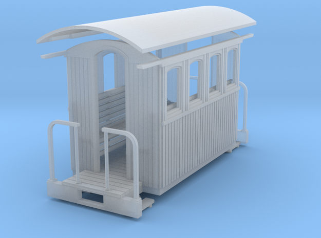 HOn30 Small 4w passenger car 3d printed