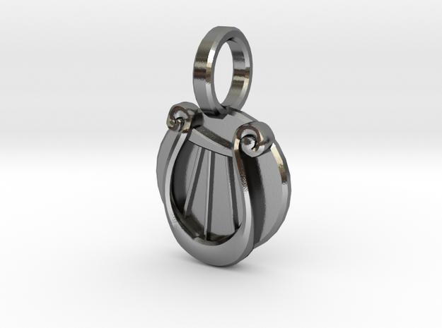 Lyra Pendant 3d printed