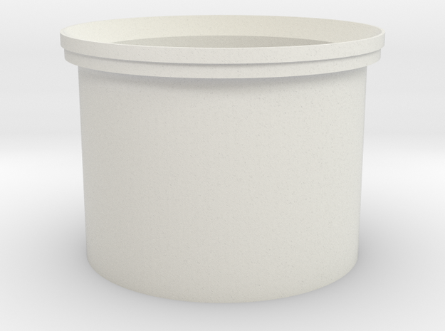 DF44 20mm 3-Stat in White Natural Versatile Plastic
