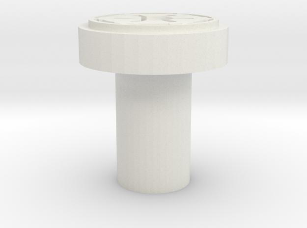 Imperial Logo Killkey  in White Natural Versatile Plastic