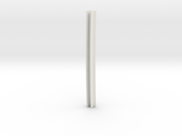 zip1200 met zeeg. lengte 20m 1:87 in White Natural Versatile Plastic
