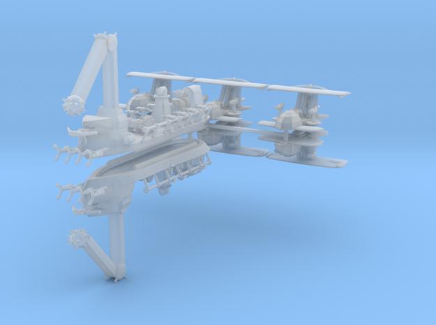 Sea King Fleet (8 Ships) 6mm in Frosted Ultra Detail