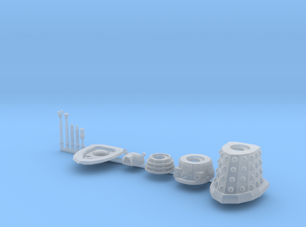 Dalek Standard Sprue type016c (x1) in Smooth Fine Detail Plastic