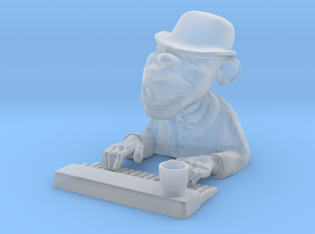 The Piano Man 3d printed