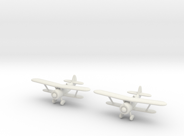 1/200 Polikarpov I-152 (x2) 3d printed