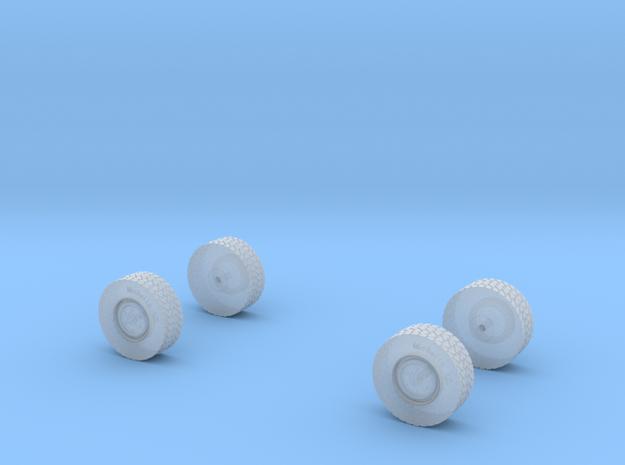 Reifenset für U5000 normale Felge in Smooth Fine Detail Plastic