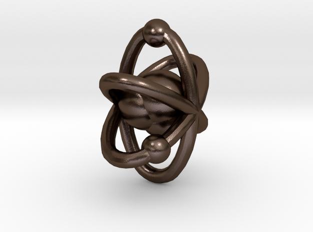 Atom pendant 1 3d printed