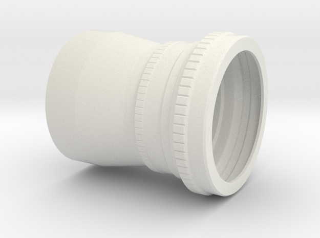 Zeiss Biogon 60 mm f/5.6 (semplified reproduction in White Natural Versatile Plastic