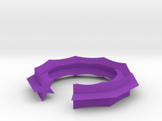 Swept Away: Stargap in Purple Processed Versatile Plastic