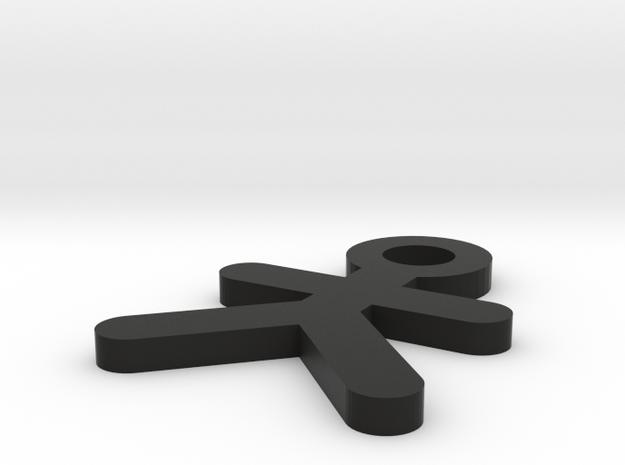 IMPRENTA3D LLAVERO MAN 3d printed