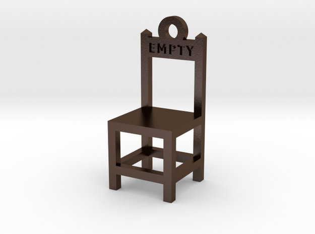 """Empty Chair"" 3d printed"