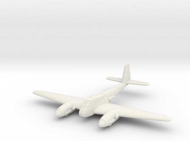1/100 Messerschmitt Me-410 in White Strong & Flexible