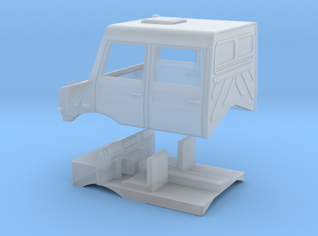 Doppelkabine   in Smooth Fine Detail Plastic