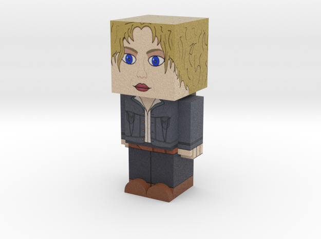 River Song (Doctor Who) 3d printed