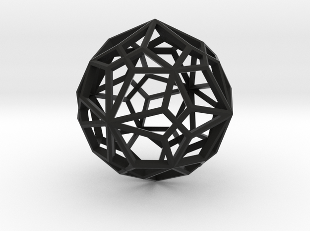 Compound of two pentagonal icositetrahedra 3d printed