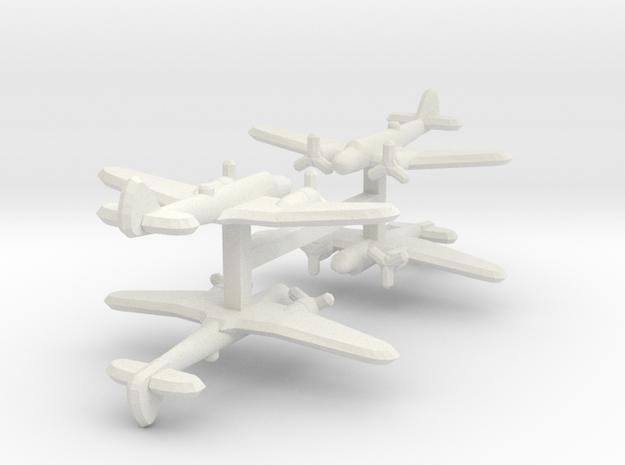 Bristol Blenheim Mk. IV 1:900 x4 3d printed