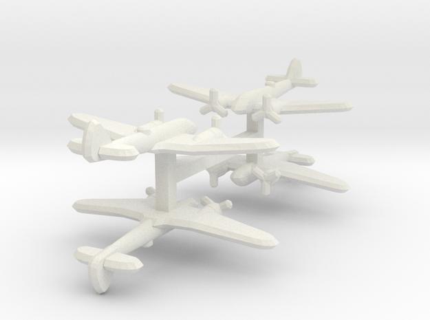Bristol Blenheim Mk. I 1:900 x4 in White Natural Versatile Plastic