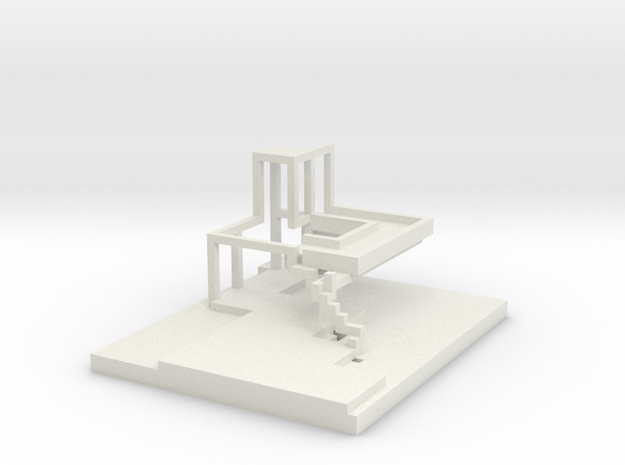 Impossible Waterfall wrl 3d printed