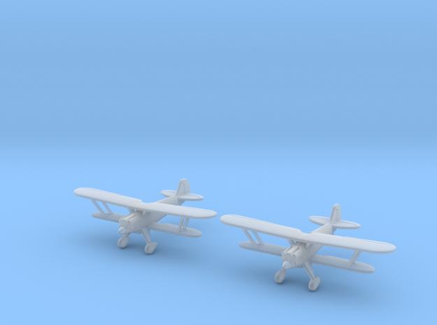 1/200 Heinkel He-51 (x2) 3d printed
