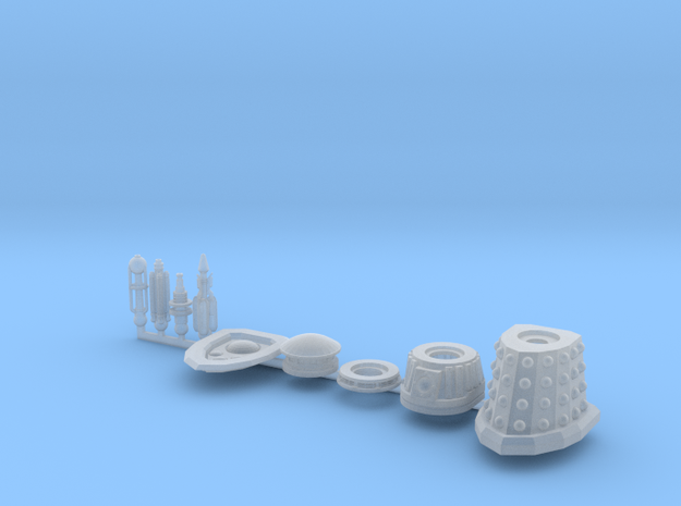 Dalek Special Sprue 016c in Smooth Fine Detail Plastic