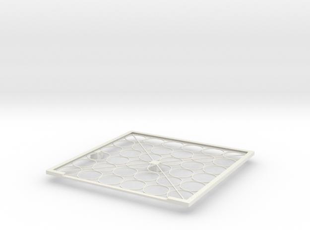 Solar panel frame in White Strong & Flexible