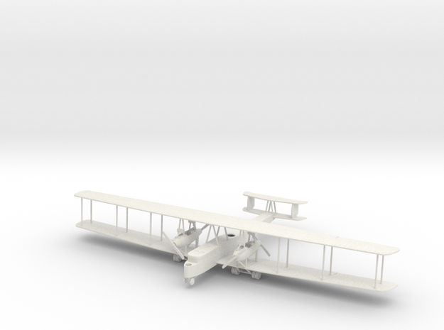 Zeppelin Staaken R.VI 25/16 1:144th Scale in White Natural Versatile Plastic