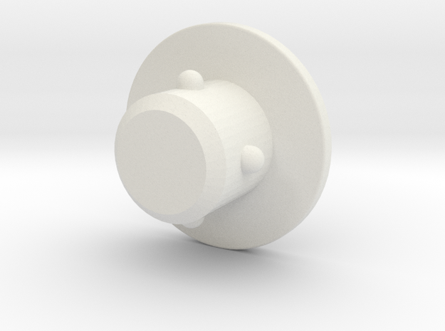 OP-1  M6 COVER PLUG 1 in White Strong & Flexible