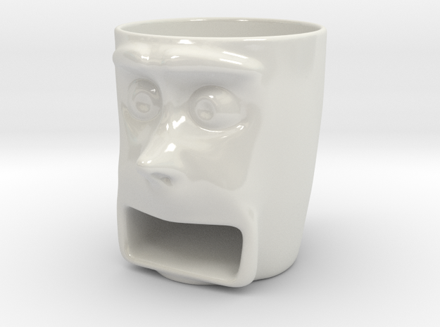 Face Mug Cookie Holder 3d printed