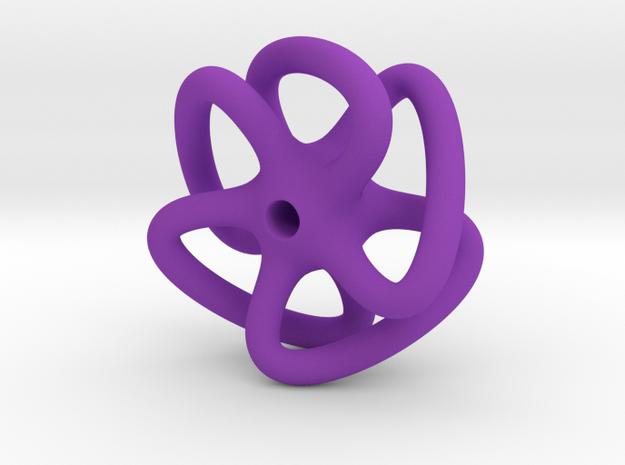 Dodecahydra in Purple Processed Versatile Plastic