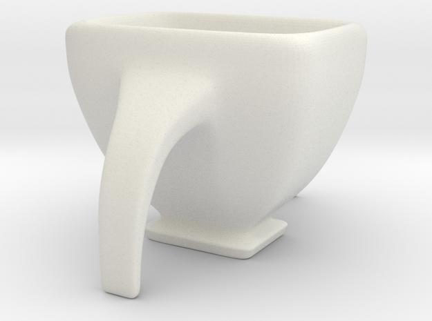 Espresso Quadrilup in White Strong & Flexible