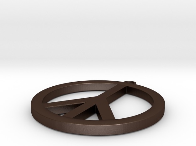 peace sign  3d printed