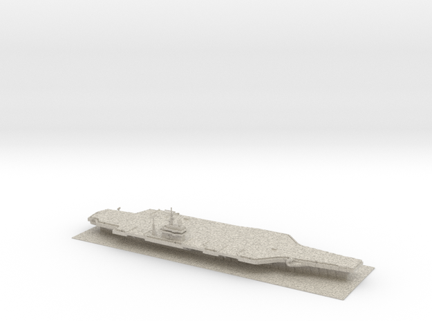 Leviathan Aircraft Carrier in Natural Sandstone