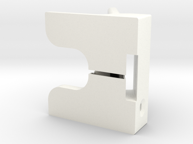 WaveGuide (an iPhone 4/ 4S Dock) 3d printed