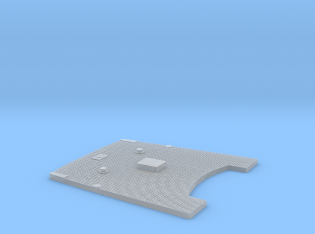 Achterdeck stl in Smooth Fine Detail Plastic