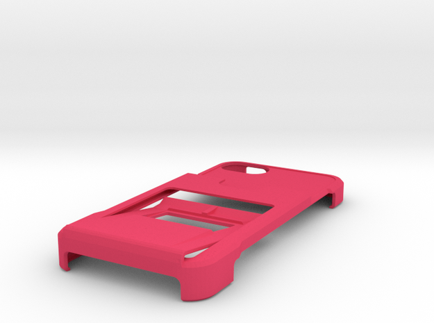 minimalistic iphone 5 case with wallet, clip and k 3d printed