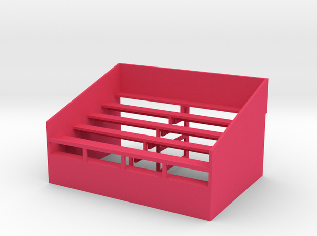 US302 - Small grandstand (H0) 3d printed