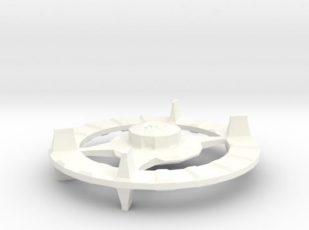 Proto Cardies in White Processed Versatile Plastic