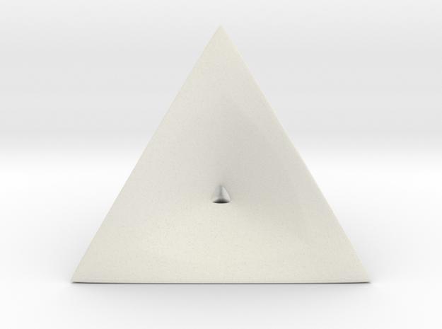 Tetra_wire2 in White Natural Versatile Plastic