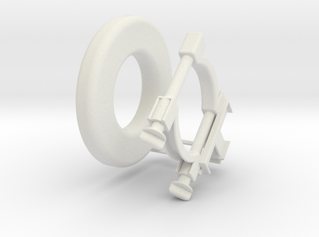 Ring Flash for High Zoom Cameras 3d printed