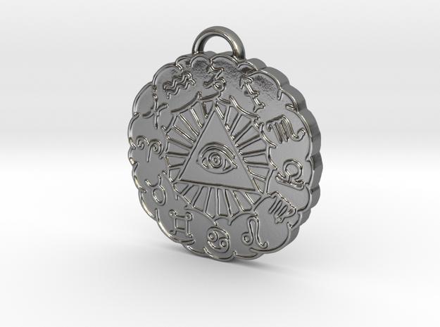Zodiac Pendant 3d printed