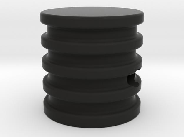 Turntable knob 3d printed
