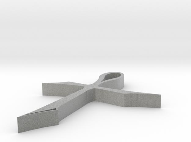 Ankh in Metallic Plastic